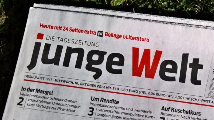 Die Junge Welt ist eine Tageszeitung bzw ein marxistisches Medium. Sitz von Redaktion und Verlagsgenossenschaft der LPG