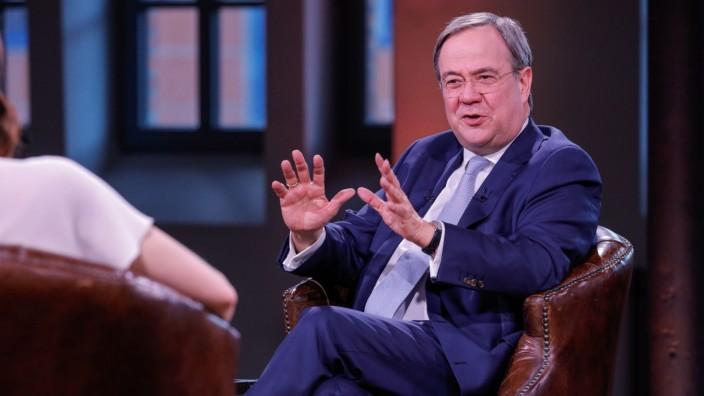 ProSieben-Interview mit Kanzlerkandidat der CDU Laschet