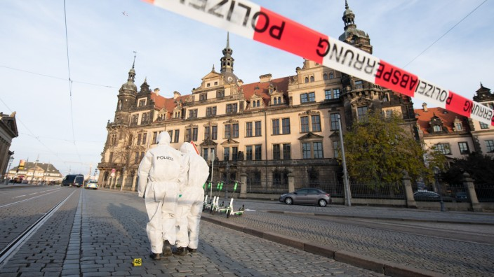 Juwelendiebstahl von Dresden - Keine Spur von Täter und Beute