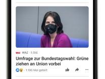Facebook News: Die blaue Zeitung
