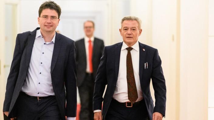 Von Brunn gegen Arnold: Kampfkandidatur um SPD-Fraktionsvorsitz
