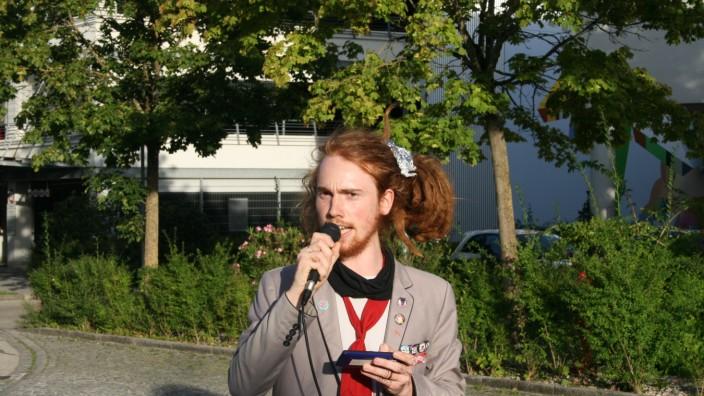 """Kalle Oefele, Erdinger """"Die Partei""""-Kreisverband"""