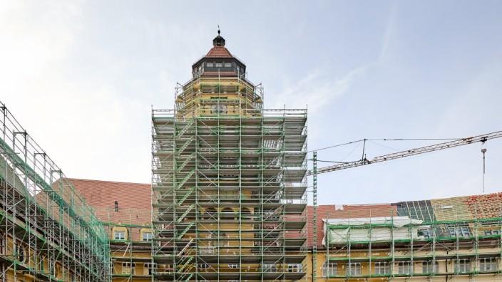 Oskar von Miller- und Max- Gymnasium, Baustelle