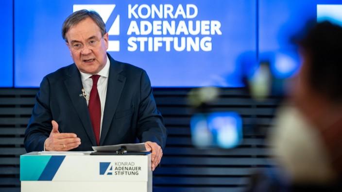 Armin Laschet bei der Adenauer-Konferenz