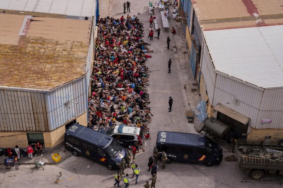 Migration in Spanien