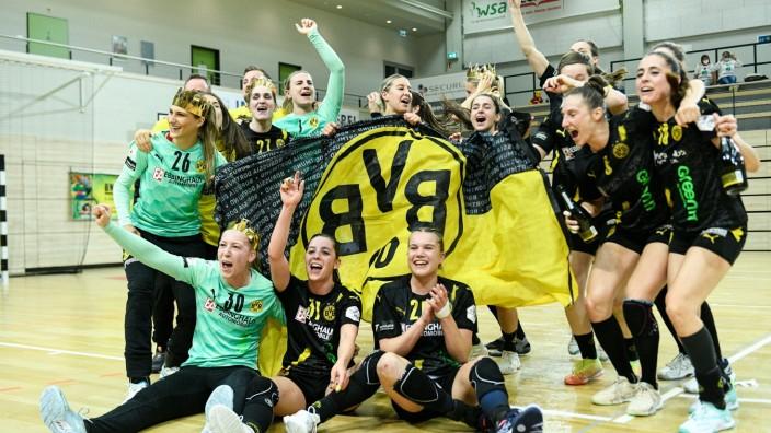 Sport Bilder des Tages Halle, Deutschland 08. Mai 2021: 1.HBL - Frauen - 2020/2021 - SV Union Halle-Neustadt Wildcats vs
