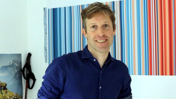 Klimaschutz: Beruflich beschäftigt sich Professor Florian Hörmann mit Obsoleszenz, privat fordert er Nachhaltigkeit.