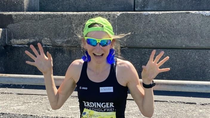 Anja Kobs - Dauerläuferin aus Alling