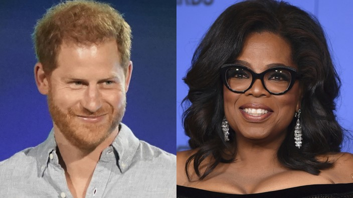 Oprah Winfrey und Prinz Harry machen gemeinsame Doku-Serie