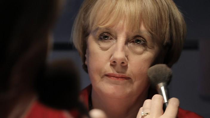 Merkel Double - Ursula Wanecki