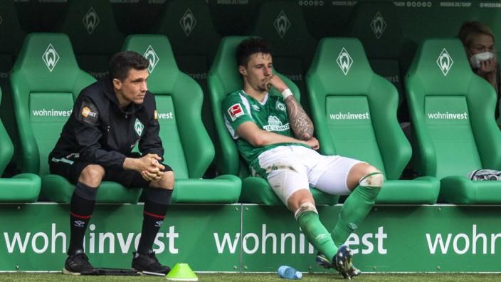 Fußball: 1. Bundesliga, Saison 2020/2021, 34. Spieltag, SV Werder Bremen gegen Borussia Mönchengladbach am 22.05.2021 im; Marco Friedl Werder Bremen