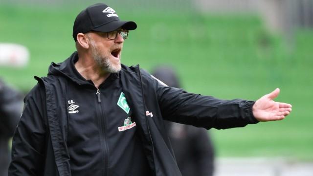 Werder Bremen: Strahlte noch einmal Zuversicht aus: Thomas Schaaf auf seiner Ein-Spiel-Mission.