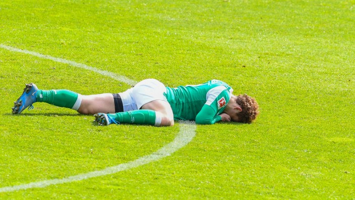 Fussball 1. Bundesliga Saison 2020/2021 34. Spieltag SV Werder Bremen - Borussia Moenchengladbach 15.05.2021 Joshua Sarg; Sargent
