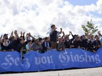 21.05.2021, Fussball 3. Liga 2020/2021, 38. Spieltag, FC Ingolstadt - TSV 1860 München, im AUDI-Sportpark Ingolstadt. he