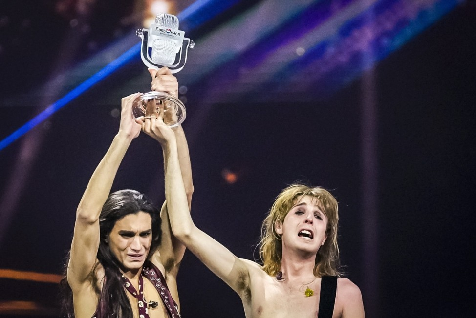 ROTTERDAM - Maneskin from Italy wins the Eurovision Song Contest 2021 with the song Zitti E Buoni. The song festival is