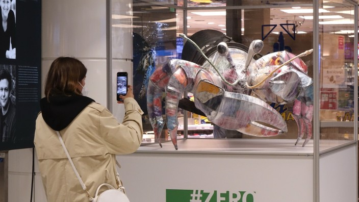 Ausstellung im Hauptbahnhof München, 2021