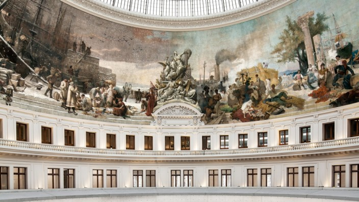 Der *Milliardär Pinault* hat für seine Sammlung ein *Privatmuseum in der alten Pariser Börse* // !!! ACHTUNG: Credit genau wie angegeben nennen!!!