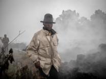 Vulkanausbruch in Goma: Erst die Lava, dann das Beben
