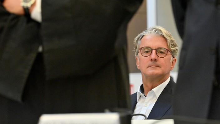 Prozess gegen früheren Audi-Chef Rupert Stadler