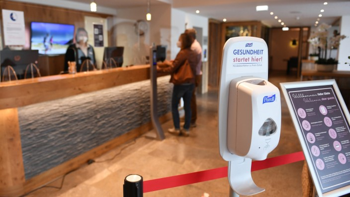 Coronavirus - Öffnung Hotels in Bayern