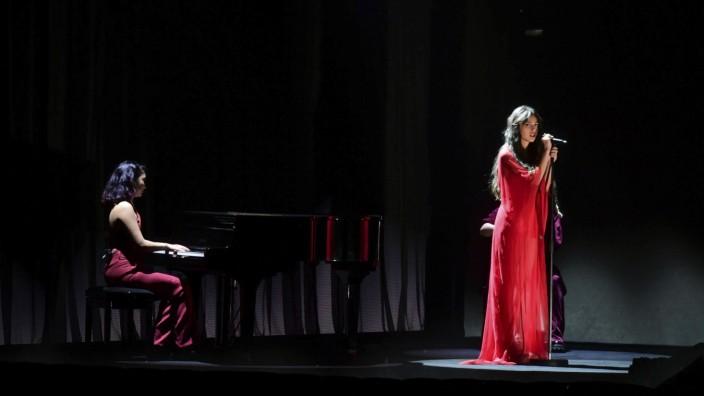 Popkolumne: Olivia Rodrigo bei einem Auftritt während der Brit Awards Mitte Mai in London.