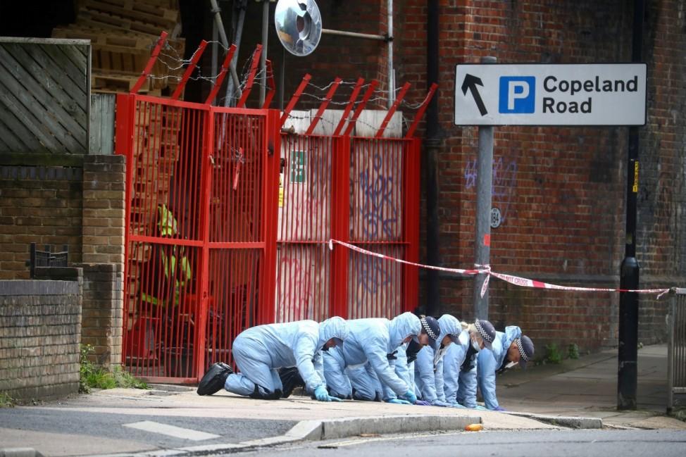 BLM activist Johnson shot in London