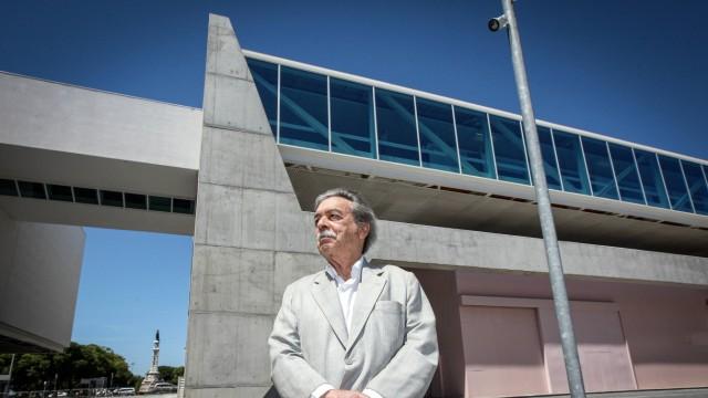 Paulo Mendes da Rocha Lisbon 05 22 2015 The Brazilian modernist architect Paulo Mendes da Rocha