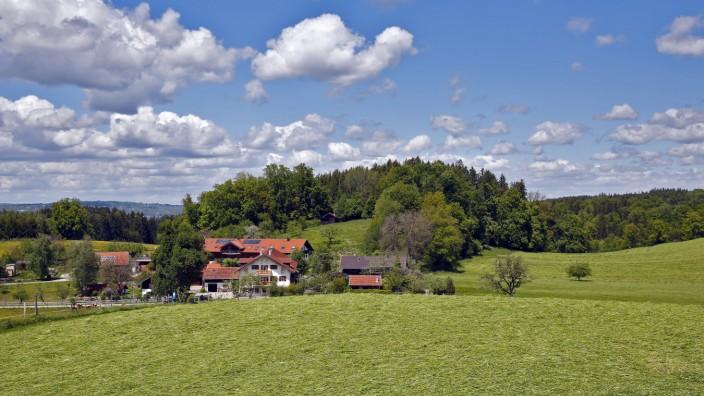 Pfaffenkam Konzentrationsfläche Mobilfunk Gemeinde Münsing bei Holzhausen