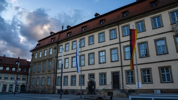 Das Bamberger Rathaus ist im Mai durchsucht worden.