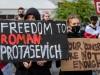Roman Protassewitsch Belarus Demonstration