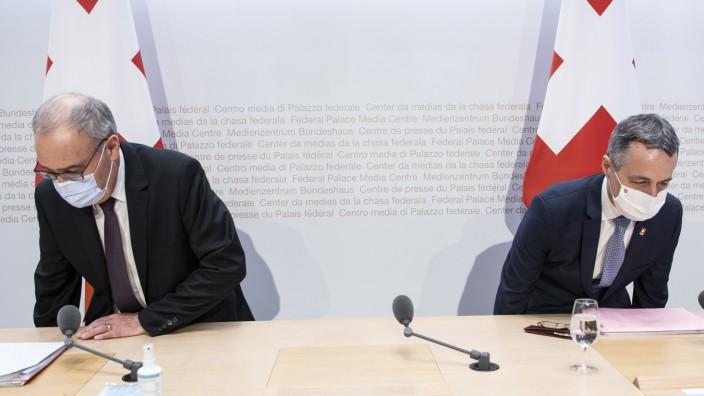 Schweiz lässt geplantes Rahmenabkommen mit der EU platzen