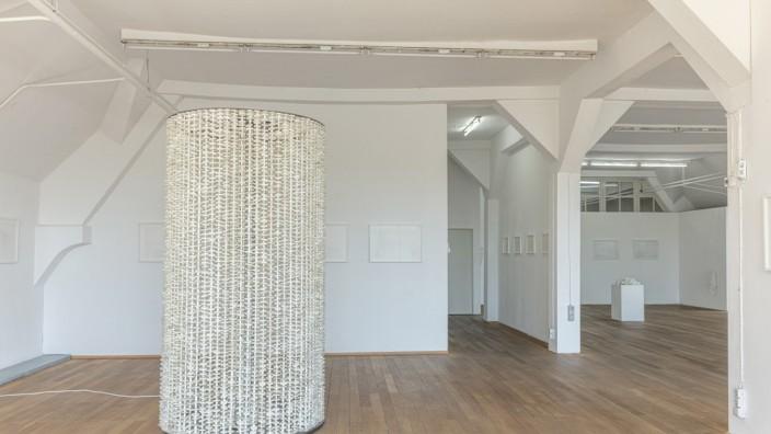 Kunstverein Rosenheim, Ausstellung leiseweiss