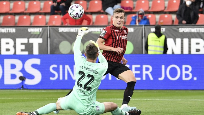 27.05.2021 - Fussball - Saison 2020 2021 - 2. / 3. Fussball - Bundesliga - Relegation Aufstieg Abstieg - Hinspiel: FC In