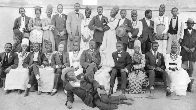 Herero-Hochzeit in Windhuk, 1926