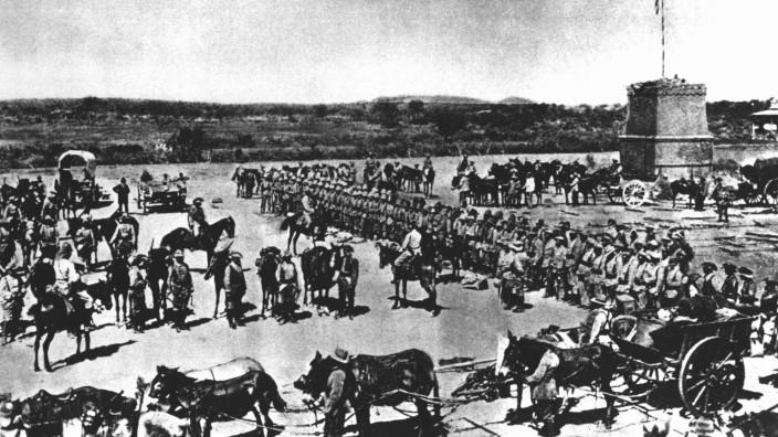 Namibia: 100 Jahre Ende von Deutsch-Südwest