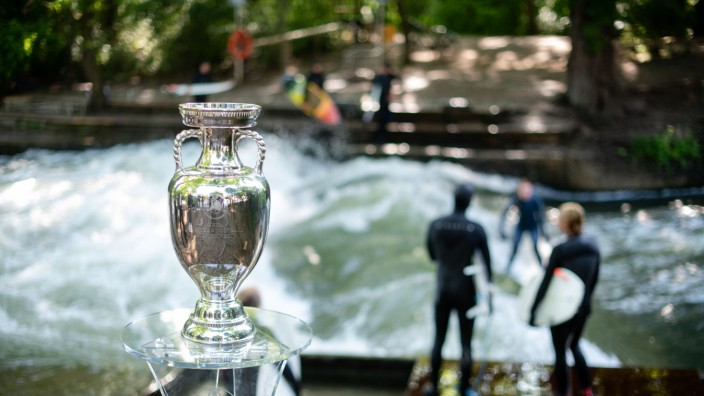 UEFA EURO 2020 Trophy Tour Munich