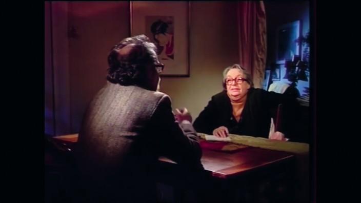 Pressebilder für FEU Lit: Buch Dialoge, Marguerite Duras und Jean-Luc Godard