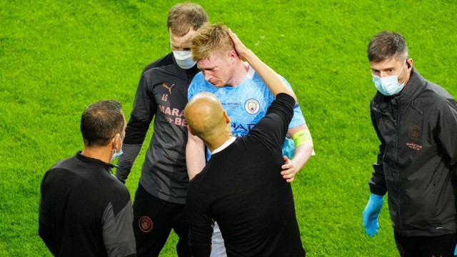 Mandatory Credit: Photo by Dave Shopland/BPI/Shutterstock (11978023ez) Kevin De Bruyne of Manchester City is visibly ups