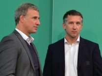 Marco Bode und Frank Baumann
