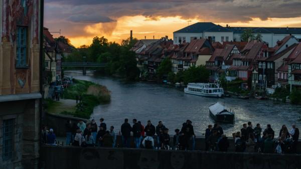 Coronavirus - Untere Brücke Bamberg
