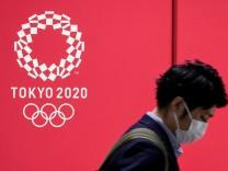 Vor den Olympischen Spielen inTokio