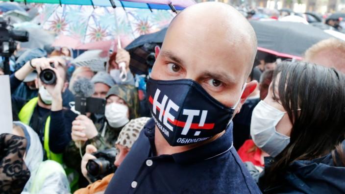 Russischer Oppositioneller festgenommen