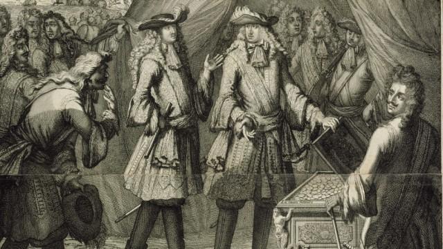 Geschichte: In Europa galten die Beutestücke als Sensation.