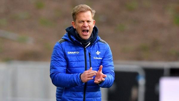 Fußball: Markus Anfang als Trainer von Darmstadt 98