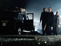 Brendan Gleeson, Cillian Murphy & Naomie Harris Characters: Jim, Selena Film: 28 Days Later... (UK 2013) Director: Danny