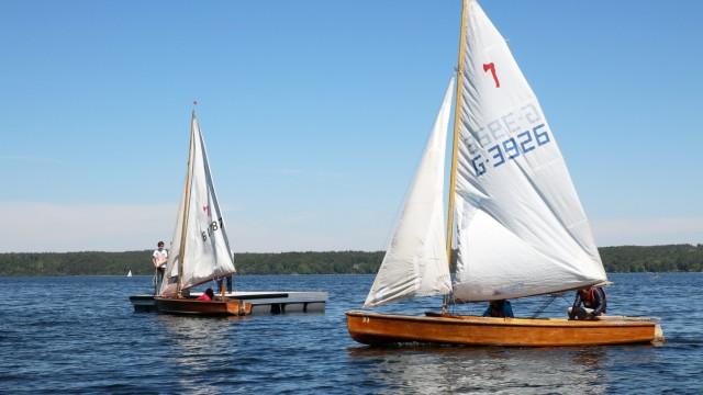 Wassersport auf dem Starnberger See; Wassersport auf dem Starnberger See