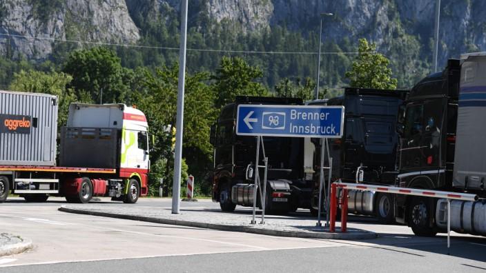Blockabfertigung für Lkw