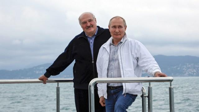 Belarussischer Präsident Lukaschenko in Russland
