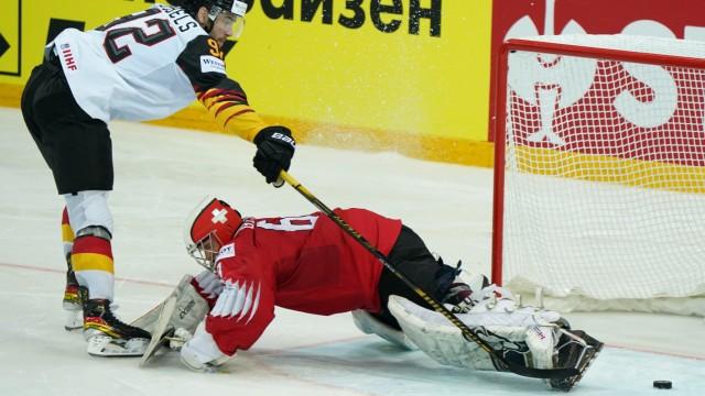 Eishockey-WM: Schweiz - Deutschland