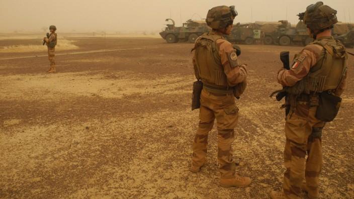 Nach Putsch: Französische Soldaten in Mali (Archivfoto)